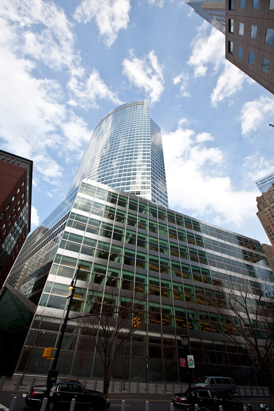 Goldman Sachs High Rise Office Building – Banker Steel
