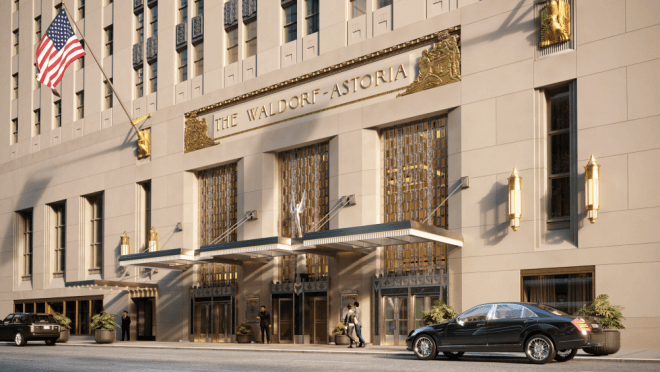 Waldorf Astoria Renovation Steel Construction